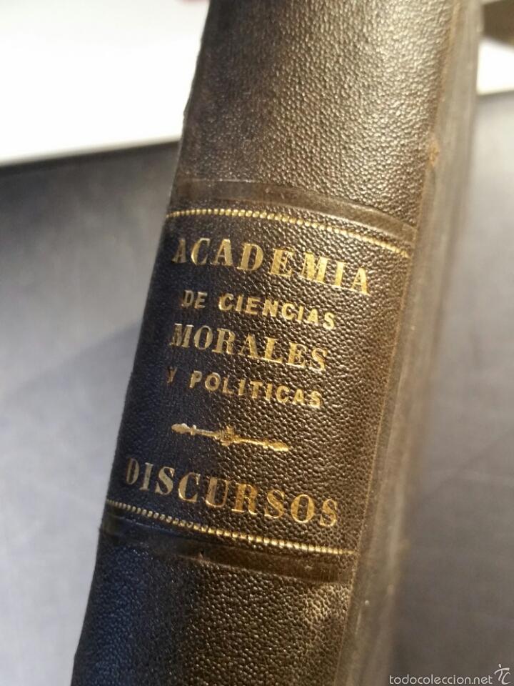 Libros antiguos: MEMORIAS DE LA REAL ACADEMIA DE CIENCIAS MORALES Y POLÍTICAS 1861 - Foto 7 - 69359054