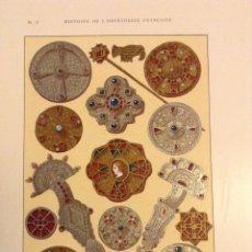Libros antiguos: HISTORIE DE L'ORFÈVRERIE FRANÇAISE HENRY HAVARD ORFEBRERIA. Lote 69425751