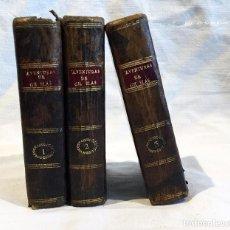 Libros antiguos: ANTIGUOS LIBROS GIL Y BLAS TRILOGÍA. Lote 69427793