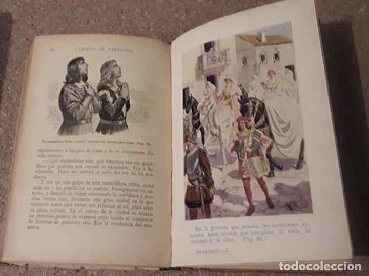 Libros antiguos: ANDERSEN, CUENTOS - Foto 3 - 69431721