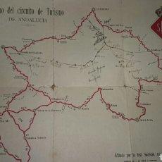 Libros antiguos: PLANO CARRETERA 1921. Lote 69436285