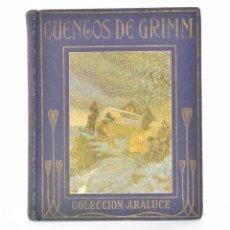 Libros antiguos: CUENTOS DE GRIMM (RELATADA A LOS NIÑOS POR...) - MORALES, MARÍA LUZ. Lote 69445453