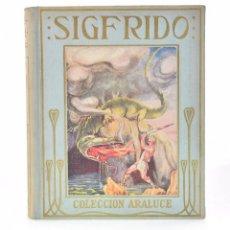 Libros antiguos - LA LEYENDA DE SIGFRIDO (ADAPTADA PARA LOS NIÑOS) - 69445529