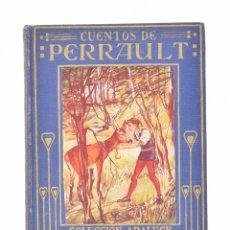 Libros antiguos: CUENTOS DE PERRAULT (RELATADOS A LOS NIÑOS POR MARÍA LUZ MORALES) - PERRAULT, CARLOS - ARALUCE. Lote 69445541