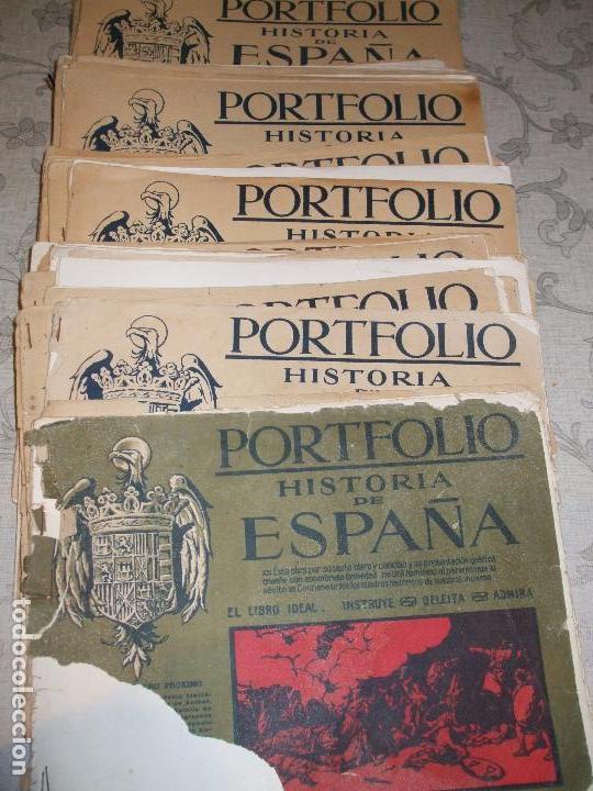 HISTORIA DE ESPAÑA - PORTFOLIO (Libros Antiguos, Raros y Curiosos - Historia - Otros)