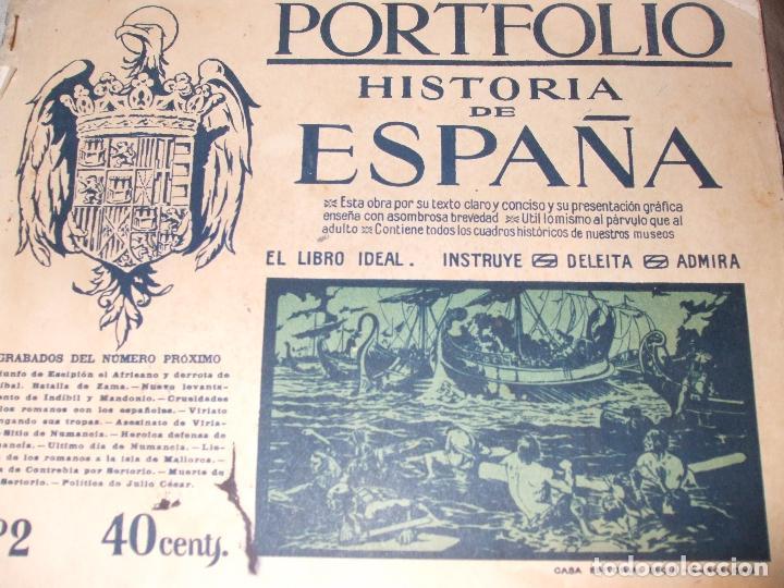 Libros antiguos: HISTORIA DE ESPAÑA - PORTFOLIO - Foto 4 - 69518681