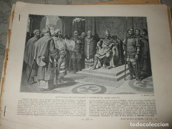 Libros antiguos: HISTORIA DE ESPAÑA - PORTFOLIO - Foto 6 - 69518681