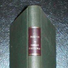 Libros antiguos: FERNANDEZ DE MORATIN, NICOLÁS: OBRAS POSTUMAS. BARCELONA,IMP. VIUDA DE ROCA1821 . Lote 69536825