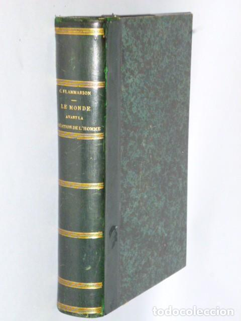 LE MONDE AVANT LA CRÉATION DE L´HOMME (1886) (Libros Antiguos, Raros y Curiosos - Otros Idiomas)