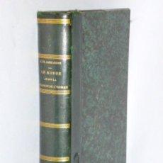 Libros antiguos: LE MONDE AVANT LA CRÉATION DE L´HOMME (1886). Lote 69679745