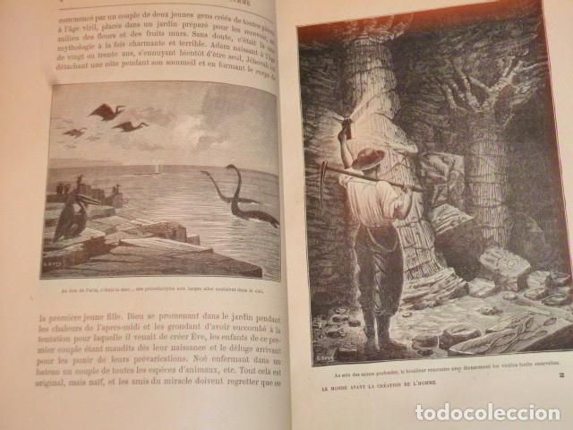 Libros antiguos: LE MONDE AVANT LA CRÉATION DE L´HOMME (1886) - Foto 3 - 69679745