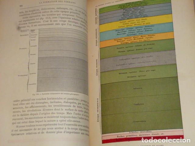 Libros antiguos: LE MONDE AVANT LA CRÉATION DE L´HOMME (1886) - Foto 5 - 69679745