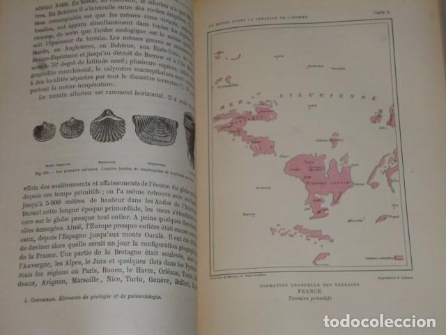 Libros antiguos: LE MONDE AVANT LA CRÉATION DE L´HOMME (1886) - Foto 6 - 69679745