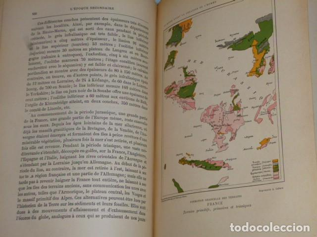 Libros antiguos: LE MONDE AVANT LA CRÉATION DE L´HOMME (1886) - Foto 11 - 69679745
