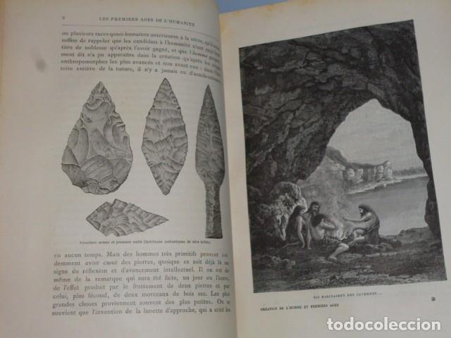Libros antiguos: LA CRÉATION DE L´HOMME ET LES PREMIERS ÂGES DE L´HUMANITÉ.(1887) - Foto 3 - 69681241