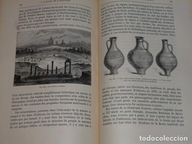 Libros antiguos: LA CRÉATION DE L´HOMME ET LES PREMIERS ÂGES DE L´HUMANITÉ.(1887) - Foto 8 - 69681241