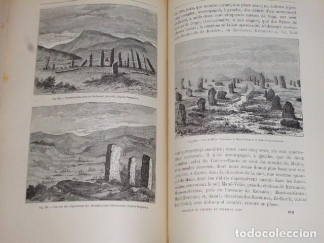 Libros antiguos: LA CRÉATION DE L´HOMME ET LES PREMIERS ÂGES DE L´HUMANITÉ.(1887) - Foto 9 - 69681241