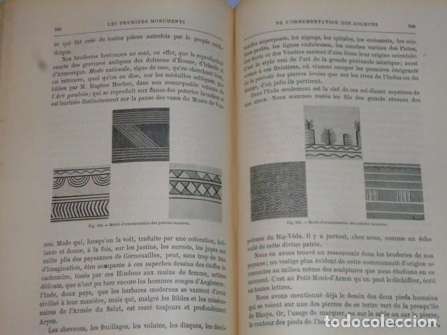 Libros antiguos: LA CRÉATION DE L´HOMME ET LES PREMIERS ÂGES DE L´HUMANITÉ.(1887) - Foto 10 - 69681241