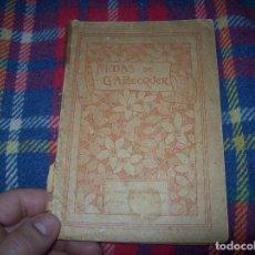Libros antiguos: RIMAS DE GUSTAVO A. BÉCQUER. REVISADO POR HOMERO SERÍS. D. APPLENTON Y COMPAÑÍA.1919. ÚNICO EN TC.. Lote 98470696