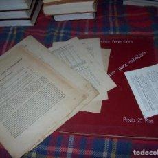 Libri antichi: MÉTODO DE CORTE PARA CABALLERO. LA CONFIANZA DE MADRID. ESTEBAN FRANCISCO PRIEGO. 1915 + EXTRAS. Lote 69793385