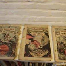 Libros antiguos: VOYAGES TRÈS EXTRAORDINAIRES DE SATURNIN FARANDOUL. ALBERT ROBIDA. ( JULES VERNE). Lote 69856405