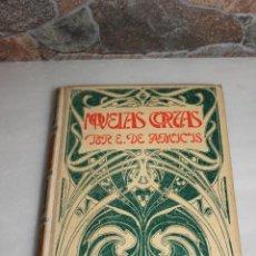 Libros antiguos: NOVELAS CORTAS POR EDMUNDO DE AMICIS. MONTANER Y SIMON 1900. Lote 69889709