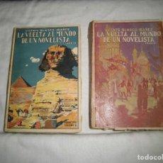 Libros antiguos: LA VUELTA AL MUNDO DE UN NOVELISTA.TOMO II Y III.-VICENTE BLASCO IBAÑEZ.EDITORIAL PROMETEO 1924. Lote 69929093