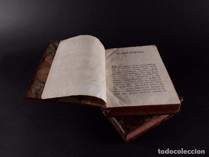 Libros antiguos: SALA INSTITUTIO ROMANO 2 TOMOS 1798 - Foto 3 - 69986953