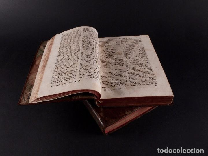 Libros antiguos: SALA INSTITUTIO ROMANO 2 TOMOS 1798 - Foto 4 - 69986953