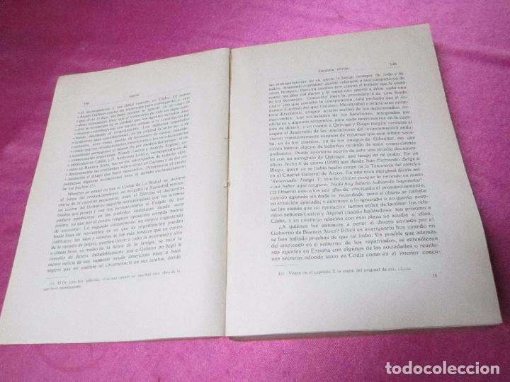 Libros antiguos: RIEGO ESTUDIO HISTORICO-POLITICO DE LA REVOLUCION DE LOS AÑOS VEINTE EUGENIA ASTUR 1933. - Foto 7 - 37804581