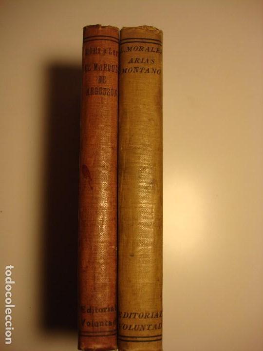 Libros antiguos: LOTE 2: EL MARQUES DE ARGENSÓN Y EL PACTO DE FAMILIA 1743 Y ARIAS MONTANO, HISPANIA 1927, 1928 - Foto 2 - 150741118