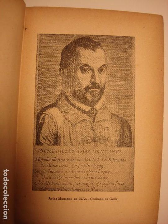 Libros antiguos: LOTE 2: EL MARQUES DE ARGENSÓN Y EL PACTO DE FAMILIA 1743 Y ARIAS MONTANO, HISPANIA 1927, 1928 - Foto 8 - 150741118