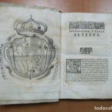 Libros antiguos: ERODOTO ALICARNASSEO PADRE DELLA GRECA ISTORIA...1733. HERODOTUS/PORCHACHI... POSEE 7 GRABADOS. Lote 70082121