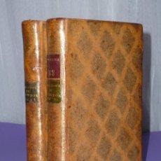 Libros antiguos: ELEMENS DE PHILOSOPHIE DE NEWTON. OEUVRES COMPLÈTES DE VOLTAIRE.(DOS TOMOS, 1785). Lote 181519536