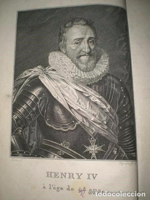 Libros antiguos: HISTOIRE DU ROI HENRI LE GRAND - Foto 3 - 70236641