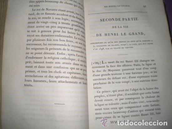 Libros antiguos: HISTOIRE DU ROI HENRI LE GRAND - Foto 4 - 70236641