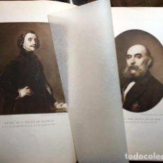 Libros antiguos: HOMENAJE A PEDRO DE MADRAZO Y J. AMADOR DE LOS RÍOS. 1918. (2 FOTOTIPIAS ( V LAMPÉREZ, A BALLESTEROS. Lote 70313361