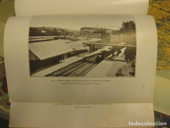 Libros antiguos: -memoria de la ria y puerto de bilbao-, junta de obras del puerto de bilbao. año 1926. - Foto 2 - 70368357