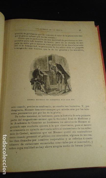 Libros antiguos: Misterios de la ciencia. Magnetismo animal, sonambulismo,hipnotismo,espiritismo...Baeza Salvador. Ba - Foto 3 - 70391065