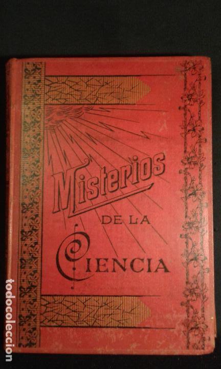 Libros antiguos: Misterios de la ciencia. Magnetismo animal, sonambulismo,hipnotismo,espiritismo...Baeza Salvador. Ba - Foto 4 - 70391065