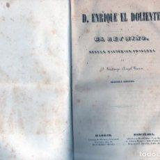 Libros antiguos: D. ENRIQUE EL DOLIENTE O EL REY NIÑO. Lote 70411137