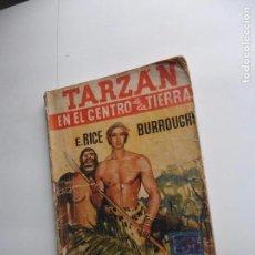 Libros antiguos: TARZAN EN EL CENTRO DE LA TIERRA -LA NOVELA AZUL 5 DICIEMBRE 1936 ORIGINAL. Lote 70442281