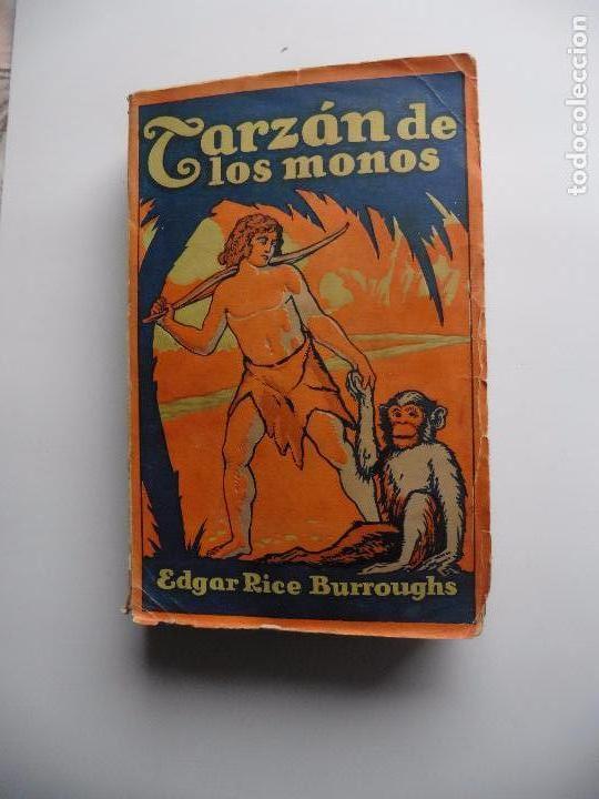 Libros antiguos: TARZAN E,RICE BURROUGHS TOMOS 1-3-4-5-6-7-8-9- 1933 ORIGINAL - Foto 3 - 70443513
