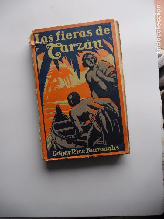 Libros antiguos: TARZAN E,RICE BURROUGHS TOMOS 1-3-4-5-6-7-8-9- 1933 ORIGINAL - Foto 5 - 70443513