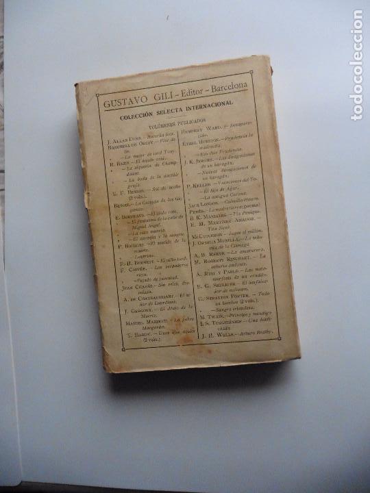 Libros antiguos: TARZAN E,RICE BURROUGHS TOMOS 1-3-4-5-6-7-8-9- 1933 ORIGINAL - Foto 6 - 70443513