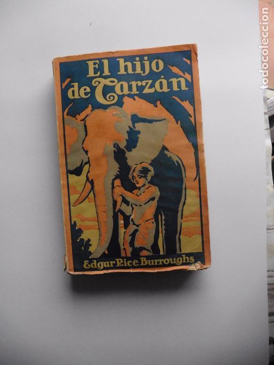 Libros antiguos: TARZAN E,RICE BURROUGHS TOMOS 1-3-4-5-6-7-8-9- 1933 ORIGINAL - Foto 7 - 70443513