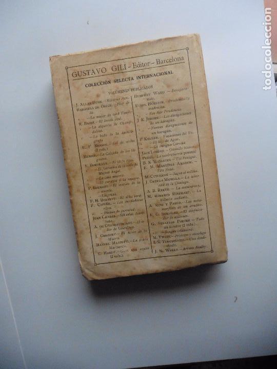 Libros antiguos: TARZAN E,RICE BURROUGHS TOMOS 1-3-4-5-6-7-8-9- 1933 ORIGINAL - Foto 8 - 70443513