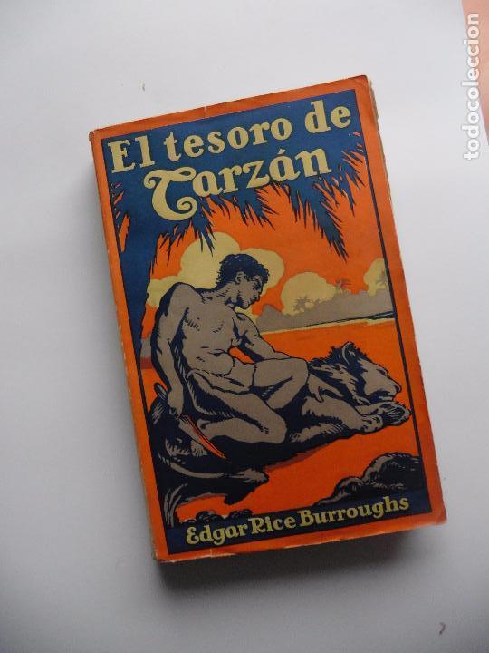 Libros antiguos: TARZAN E,RICE BURROUGHS TOMOS 1-3-4-5-6-7-8-9- 1933 ORIGINAL - Foto 9 - 70443513