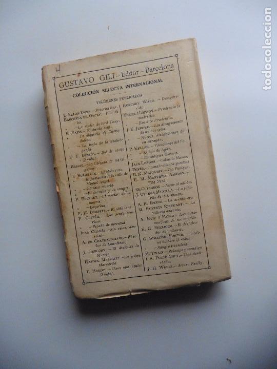 Libros antiguos: TARZAN E,RICE BURROUGHS TOMOS 1-3-4-5-6-7-8-9- 1933 ORIGINAL - Foto 10 - 70443513