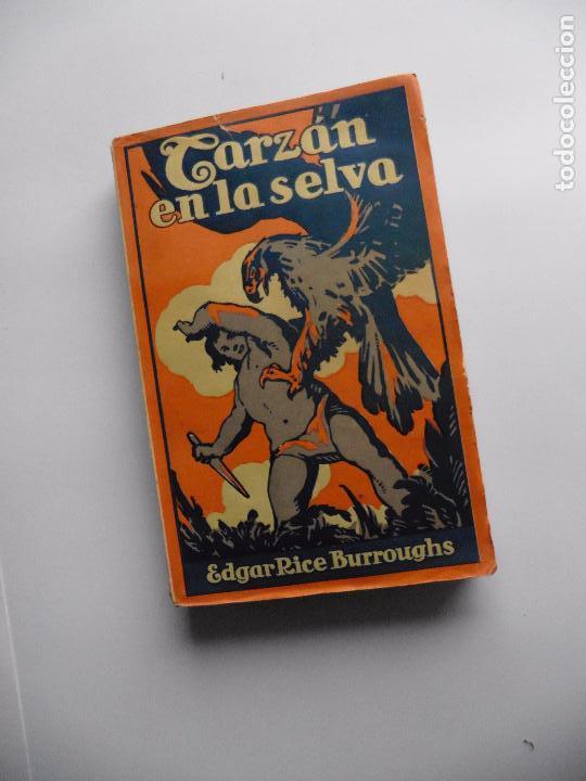 Libros antiguos: TARZAN E,RICE BURROUGHS TOMOS 1-3-4-5-6-7-8-9- 1933 ORIGINAL - Foto 11 - 70443513
